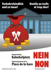 BahnhofplatzNein